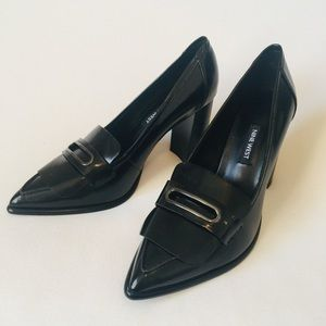 Nine West preppy heels